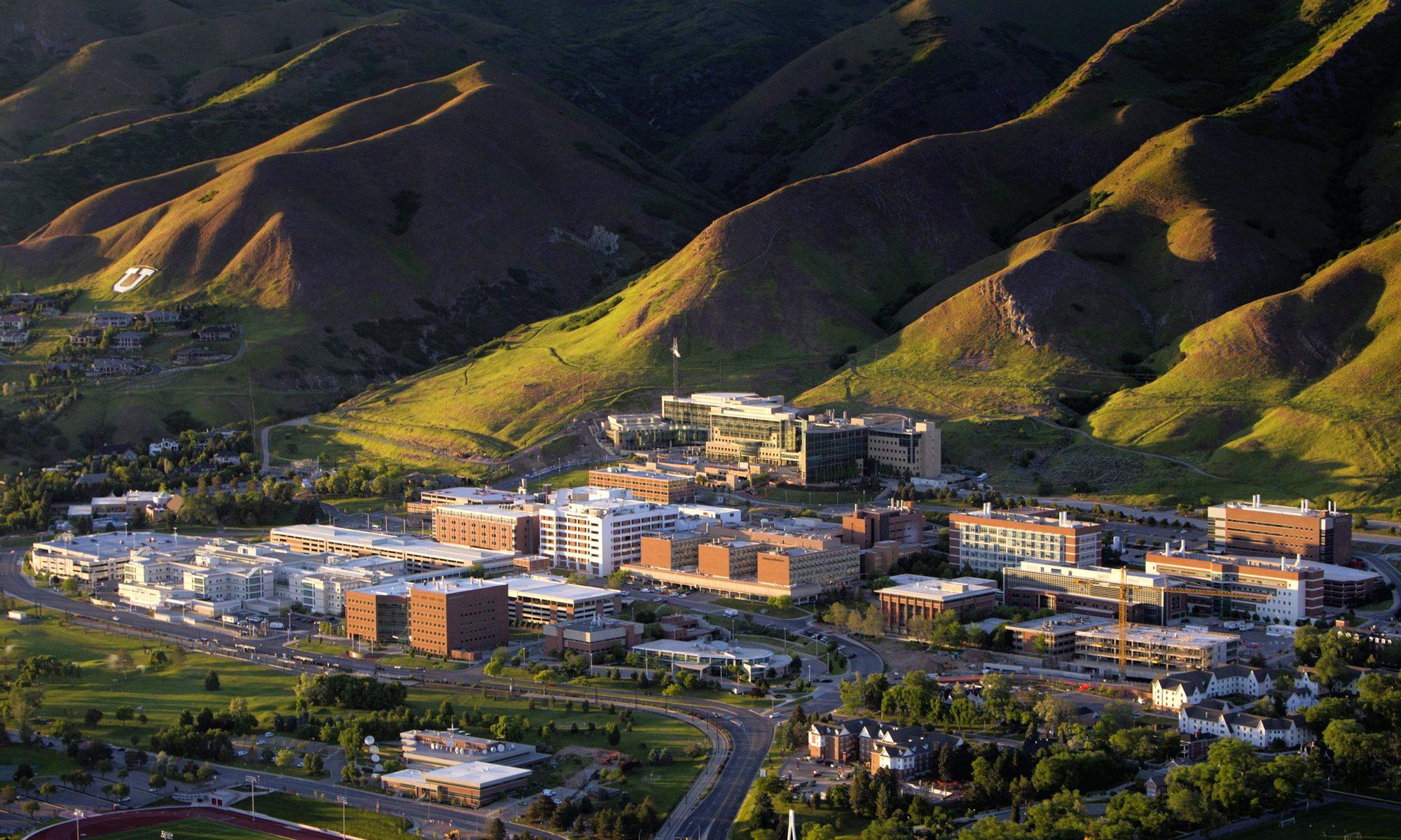 Spring Aerial Health Sciences Campus
