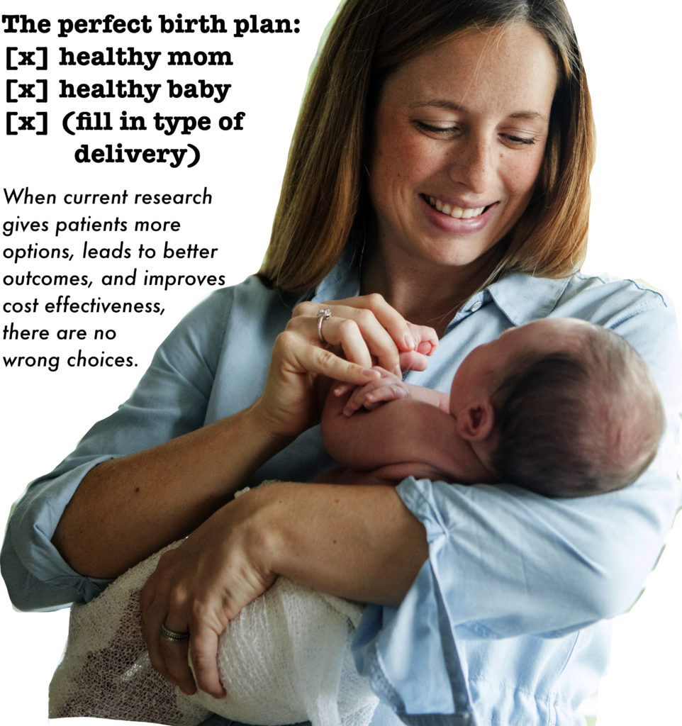 Graphic- Elective Labor Induction in First-Time Moms at 39 Weeks of Gestation
